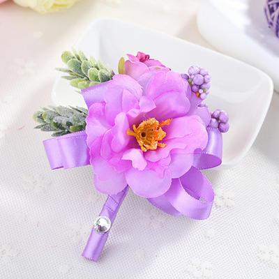 Boutonniere Wedding Fabric Girly Wedding Flowers (123189513)