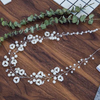 """Stirnbänder Hochzeit Kristall/Faux-Perlen 15.75""""(Ungefähre 40cm) 1.97""""(Ungefähre 5cm) Kopfschmuck (042158449)"""