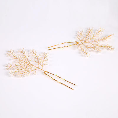 Hairpins Wedding/Special Occasion/Party/Carnival Crystal/Alloy Glamourous (Sold in single piece) Headpieces (042158984)