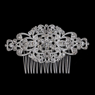 "Combs & Barrettes Wedding/Special Occasion/Party Rhinestone/Alloy 3.94""(Approx.10cm) 2.36""(Approx.6cm) Headpieces (042156957)"