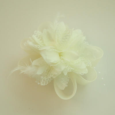 "Forehead Jewelry Wedding/Special Occasion/Party Net Yarn/Silk Flower 2.76""(Approx.7cm) 2.76""(Approx.7cm) Headpieces (042159533)"
