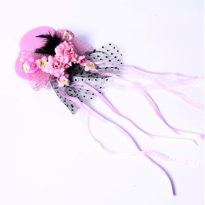 """Kopfschmuck/Blumen und Federn Hochzeit/besondere Anlässe/Party Seide Blumen/Satin 3.94""""(Ungefähre 10cm) 3.94""""(Ungefähre 10cm) Kopfschmuck (042154392)"""