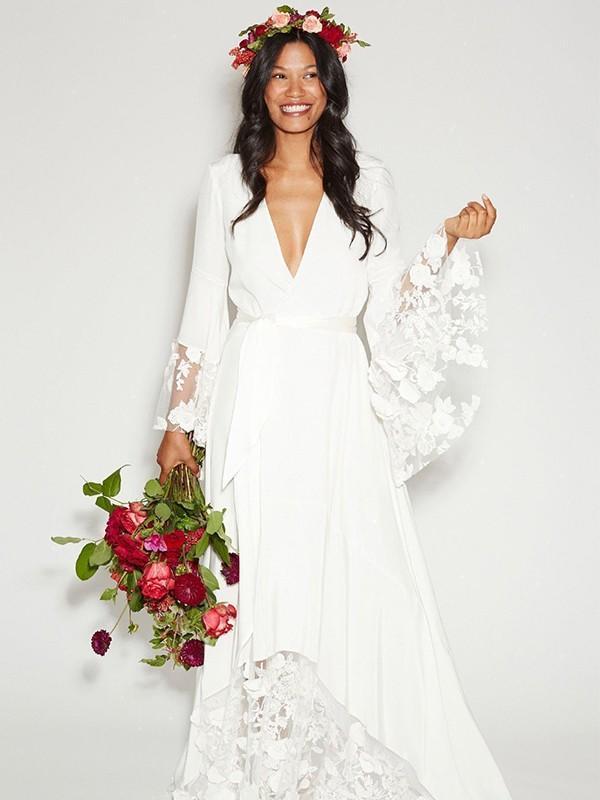 cheap plus size summer wedding dresses